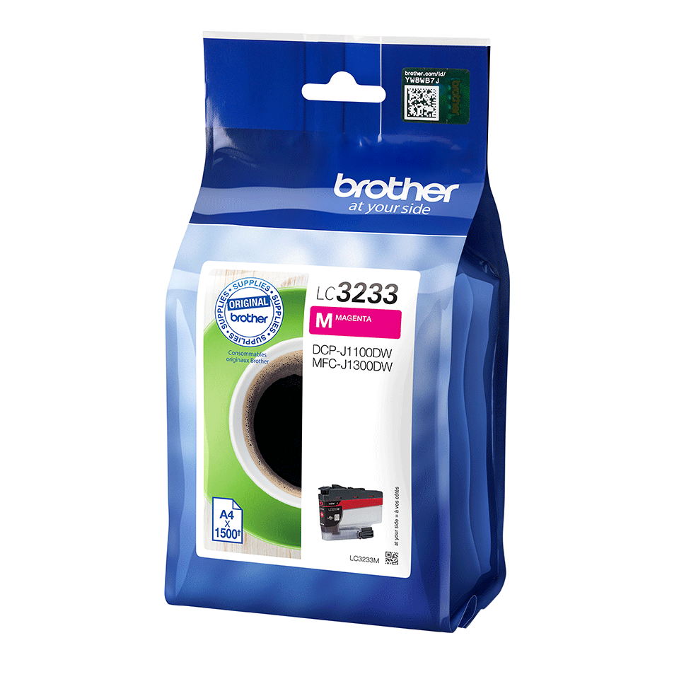 Genuine Brother LC3233M ink cartridge - Magenta 2
