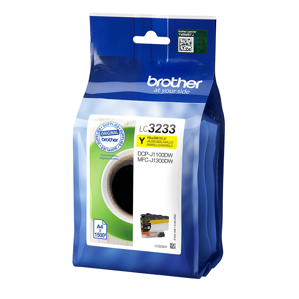 Genuine Brother LC3233Y Ink Cartridge - Yellow 2