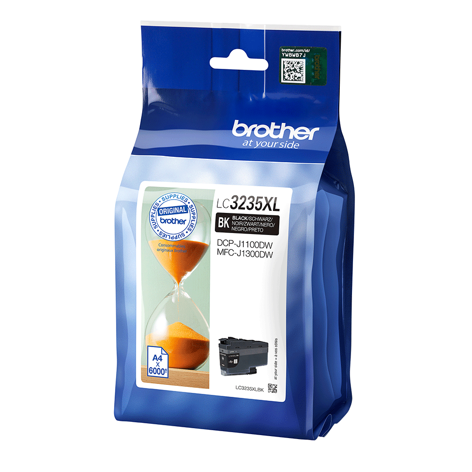 Genuine Brother LC3235XLBK ink cartridge - Black 2