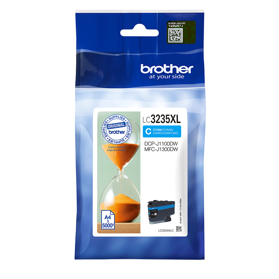 Genuine Brother LC3235XLC Ink Cartridge - Cyan