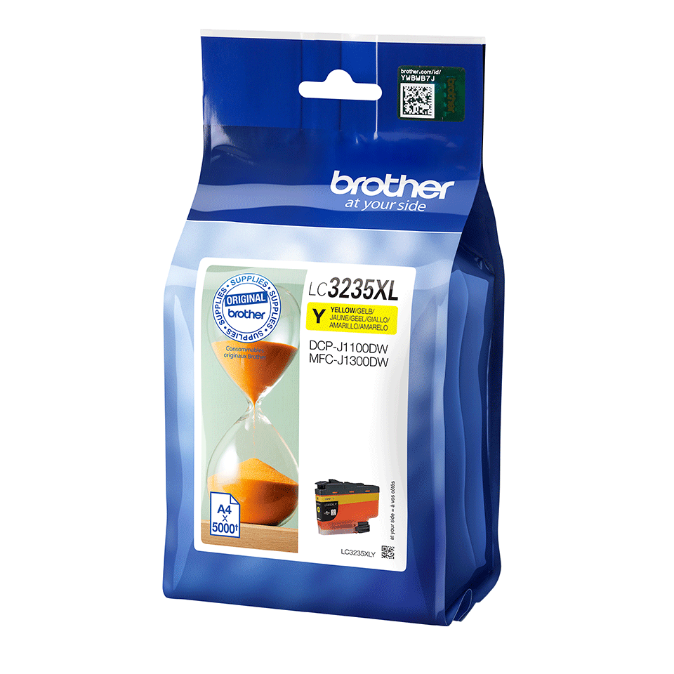 Genuine Brother LC3235XLY Ink Cartridge - Yellow 2
