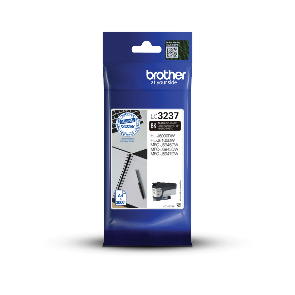 Genuine Brother LC3237BK Ink Cartridge – Black 3