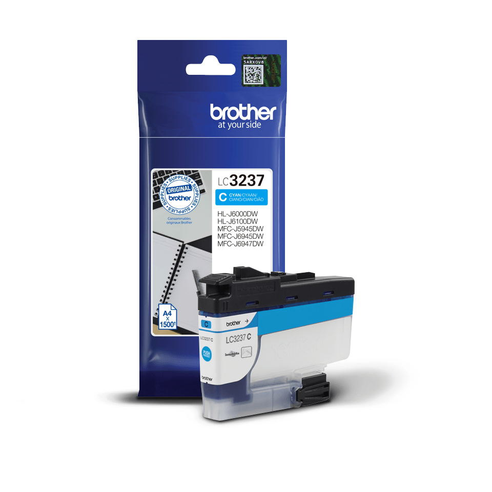 Genuine Brother LC3237C Ink Cartridge – Cyan 3