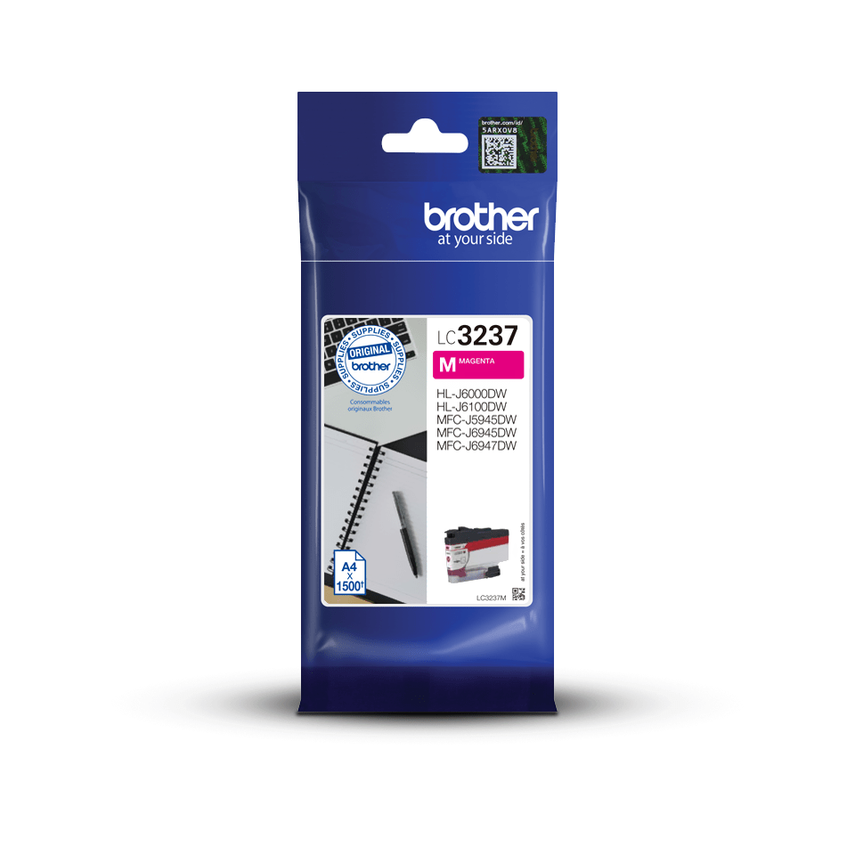 Genuine Brother LC3237M Ink Cartridge – Magenta