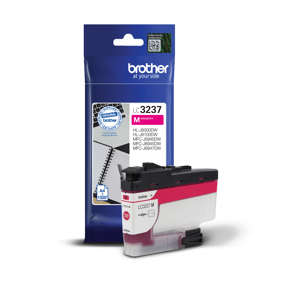 Genuine Brother LC3237M Ink Cartridge – Magenta 3