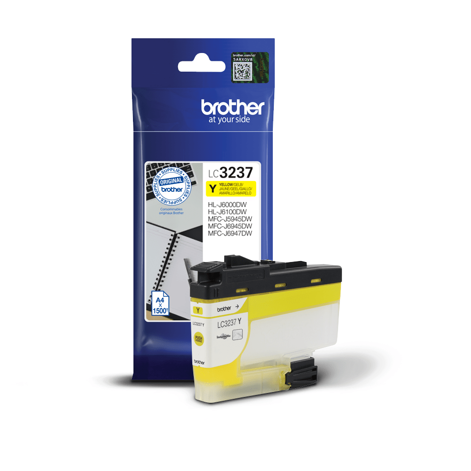 Genuine Brother LC3237Y Ink Cartridge – Yellow 2