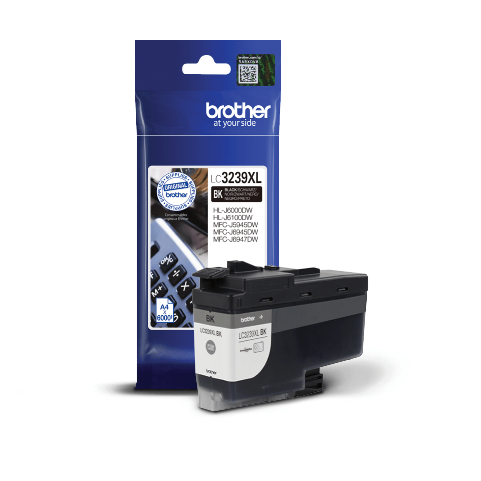 Genuine Brother LC3239XLBK High-yield Ink Cartridge – Black 2