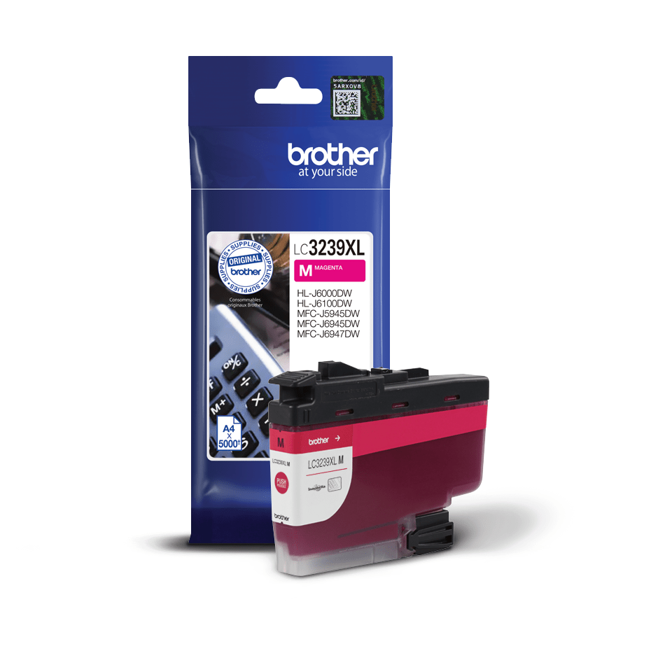 Genuine Brother LC3239XLM High-yield Ink Cartridge – Magenta 2