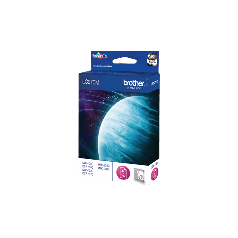 Genuine Brother LC970M Ink Cartridge – Magenta 0