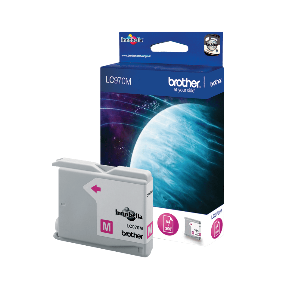 Genuine Brother LC970M Ink Cartridge – Magenta 1