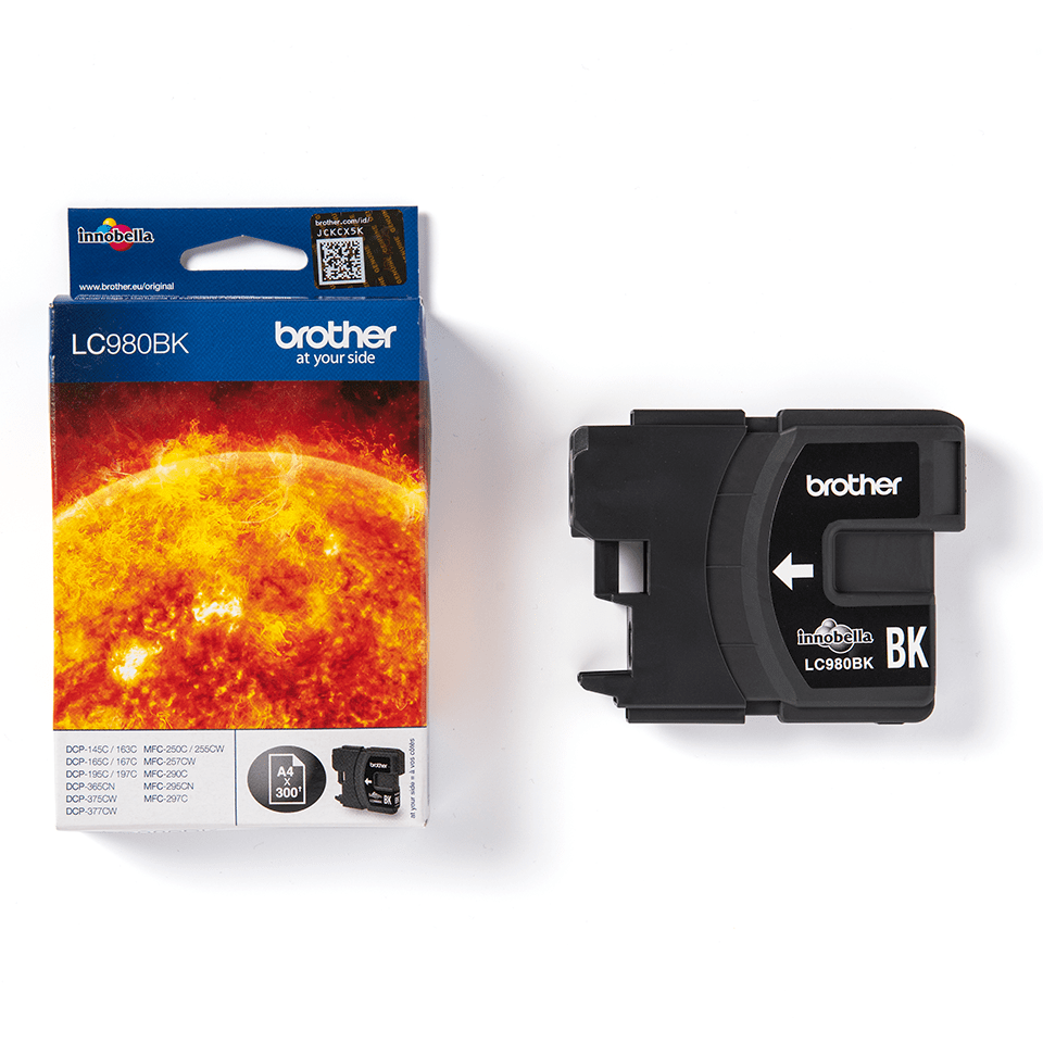 Genuine Brother LC980BK Ink Cartridge – Black  2