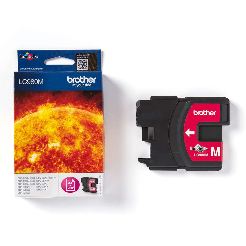Genuine Brother LC980M Ink Cartridge – Magenta 3