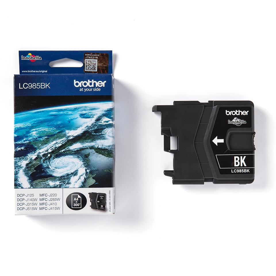 Genuine Brother LC985BK Ink Cartridge – Black 3