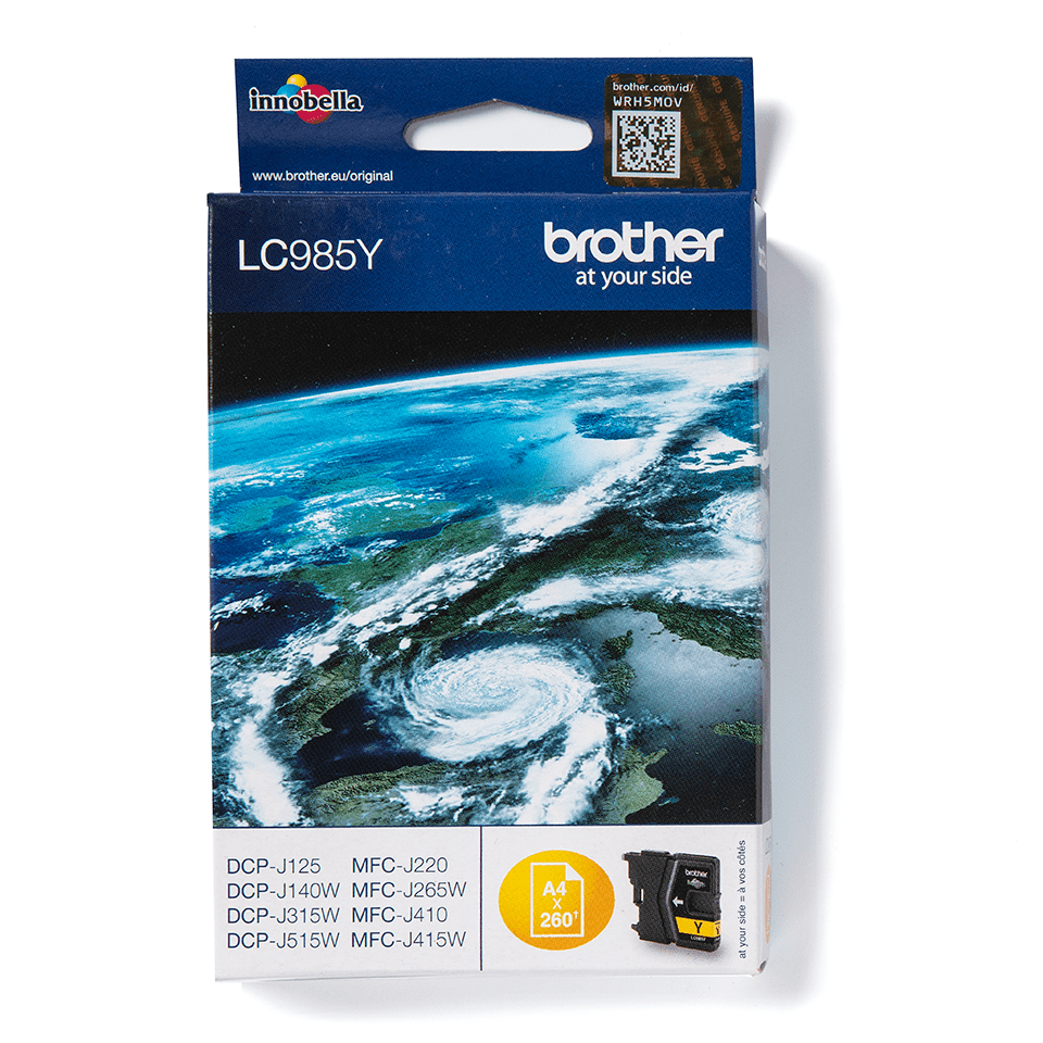 Genuine Brother LC985Y Ink Cartridge – Yellow 0