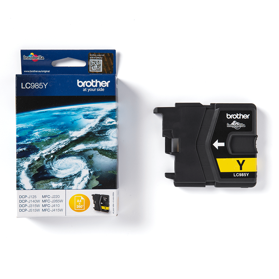 Genuine Brother LC985Y Ink Cartridge – Yellow 1
