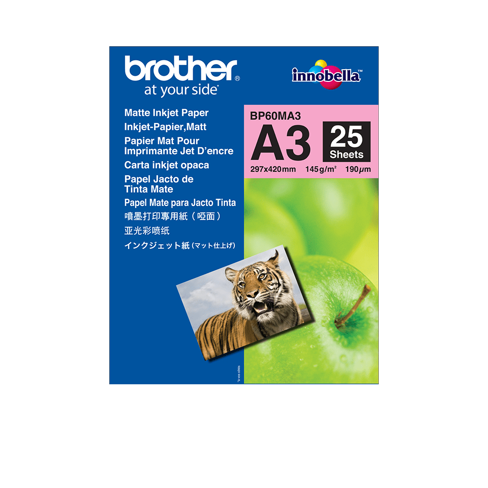 Genuine Brother BP60MA3 Matte A3 Inkjet Paper
