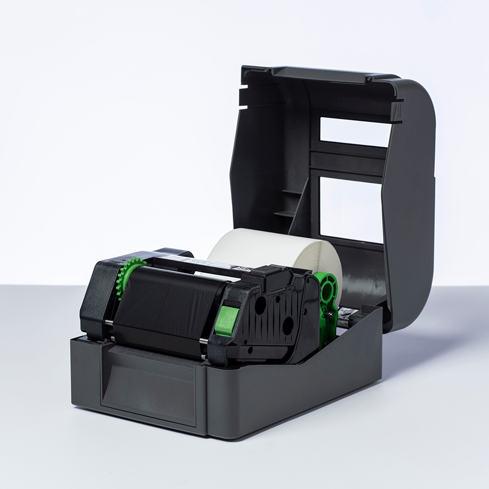 Premium Resin Thermal Transfer Black Ink Ribbon BRP-1D300-110 2