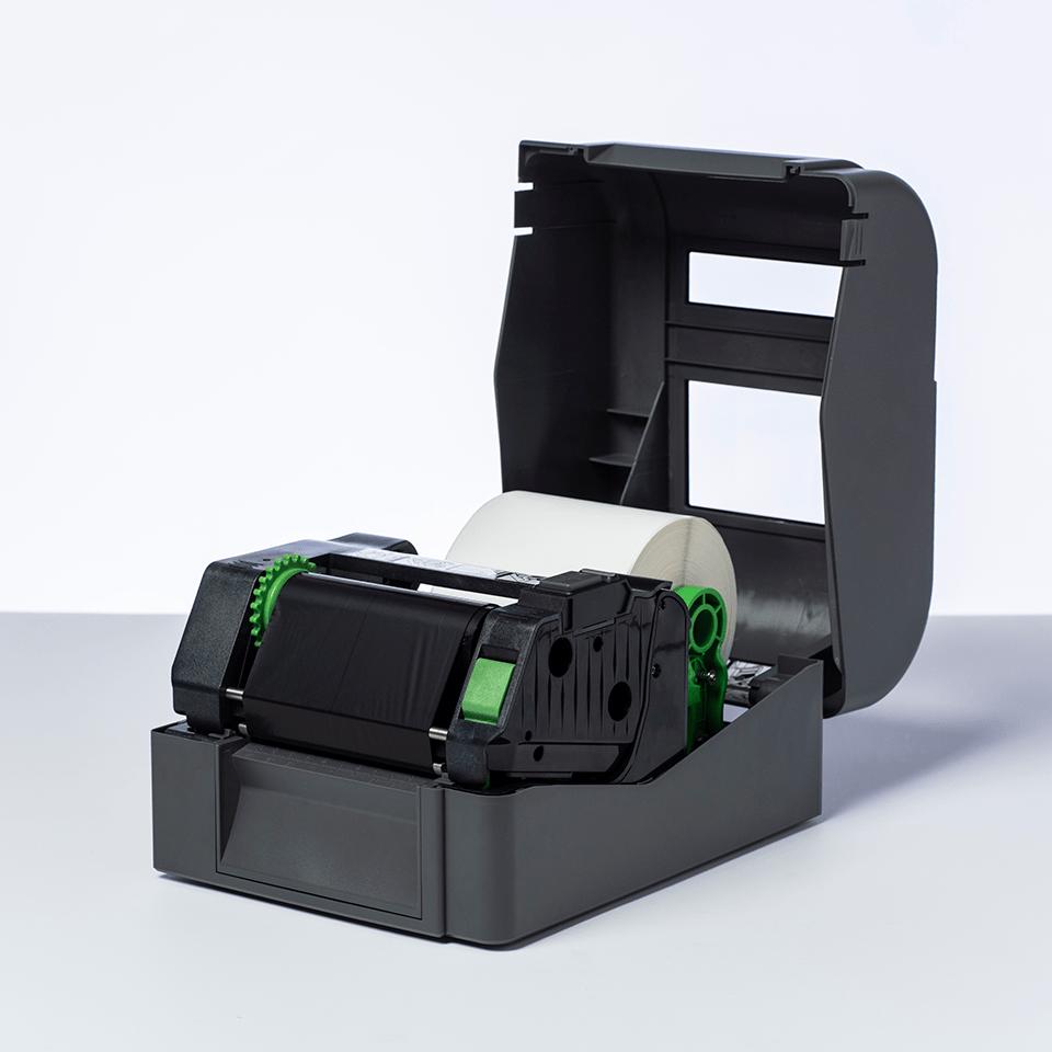 Standard Resin Thermal Transfer Black Ink Ribbon BRS-1D300-110 2