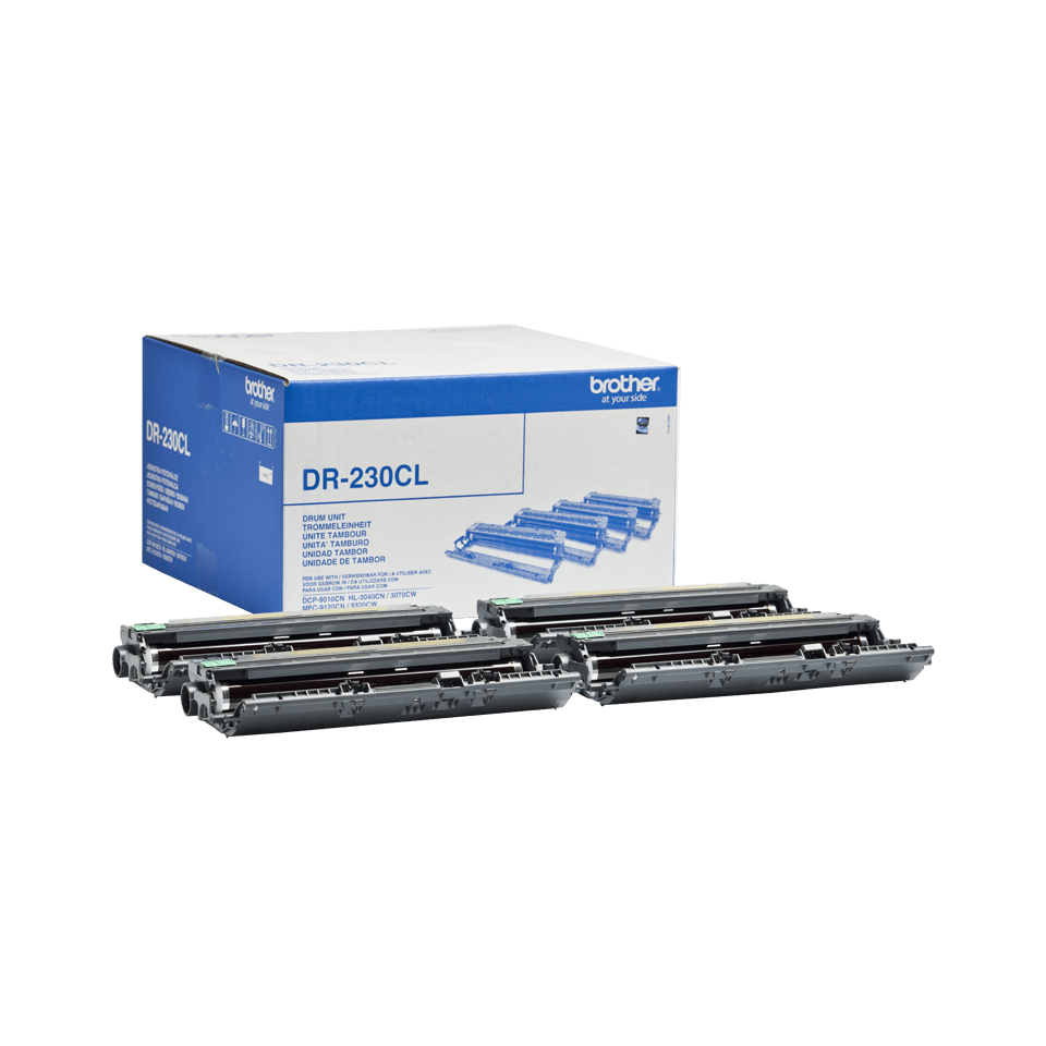Genuine Brother DR-230CL Drum Unit Pack 2