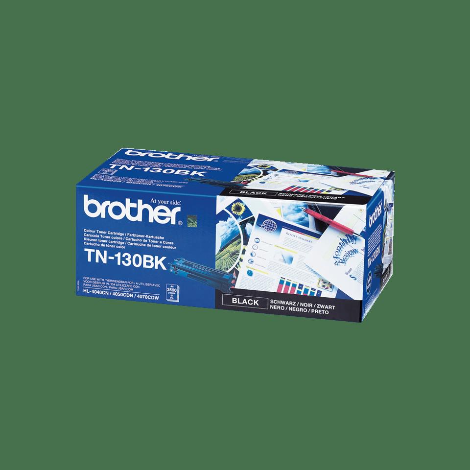 Genuine Brother TN130BK Toner Cartridge – Black