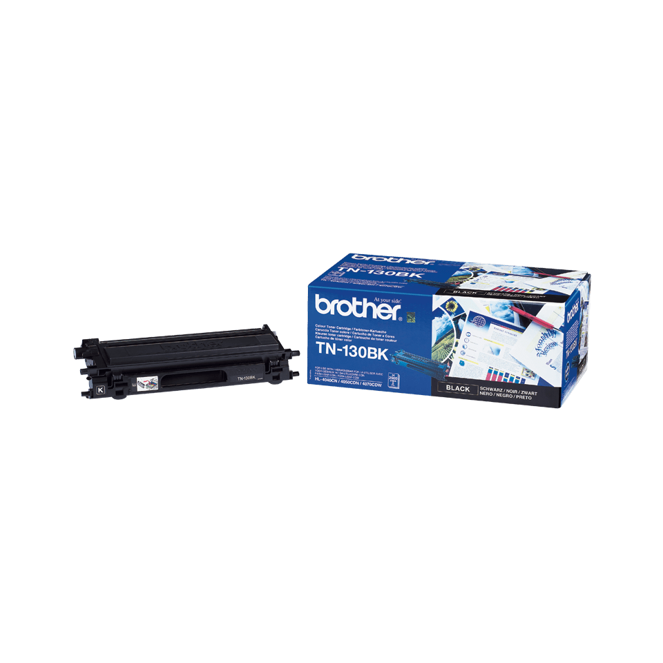 Genuine Brother TN130BK Toner Cartridge – Black 2