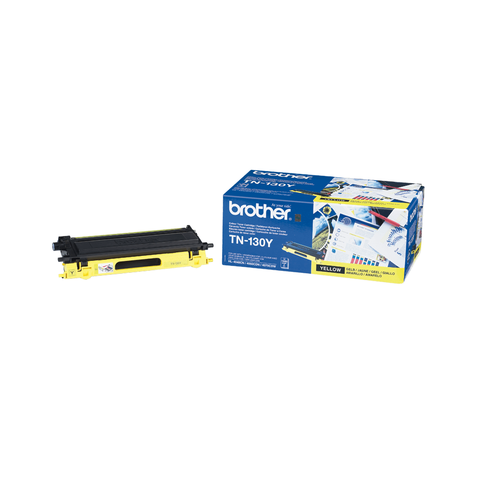 Genuine Brother TN-130Y Toner Cartridge – Yellow 2