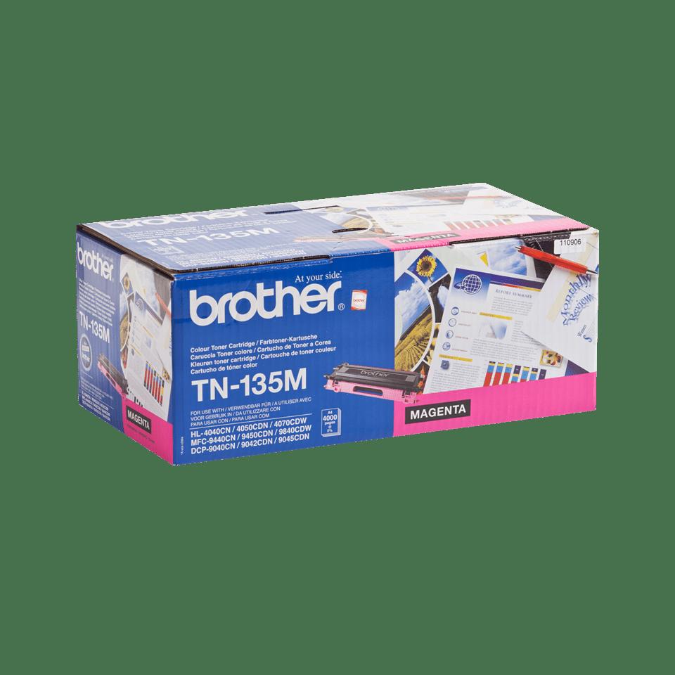Genuine Brother TN-135M High Yield Toner Cartridge – Magenta 2
