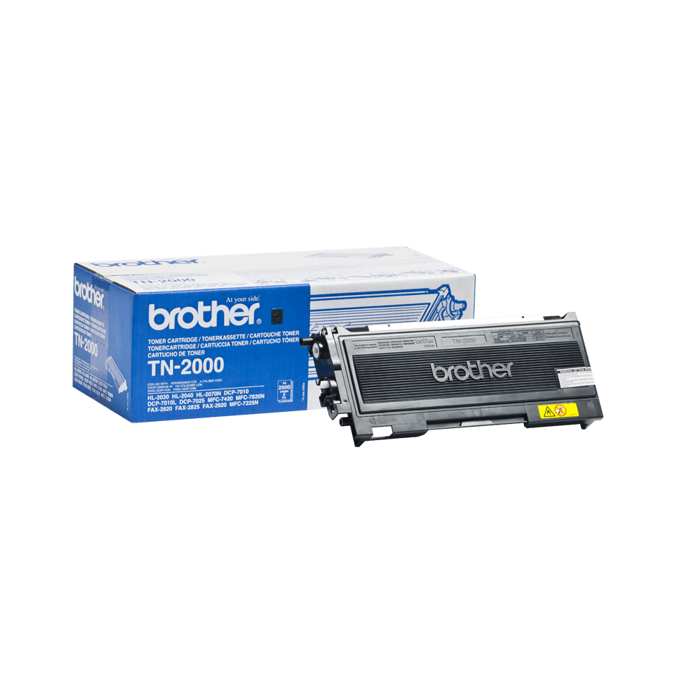 Genuine Brother TN-2000 Toner Cartridge – Black
