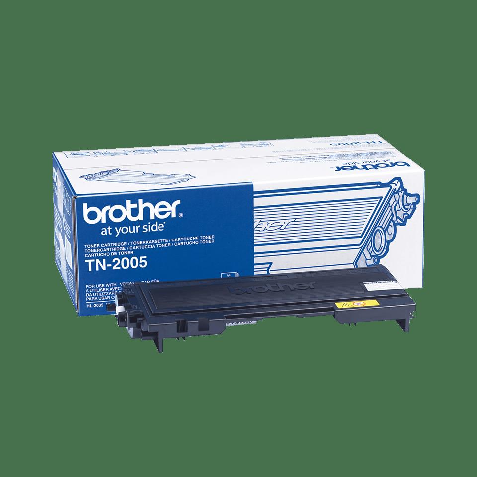 Genuine Brother TN-2005 Toner Cartridge – Black