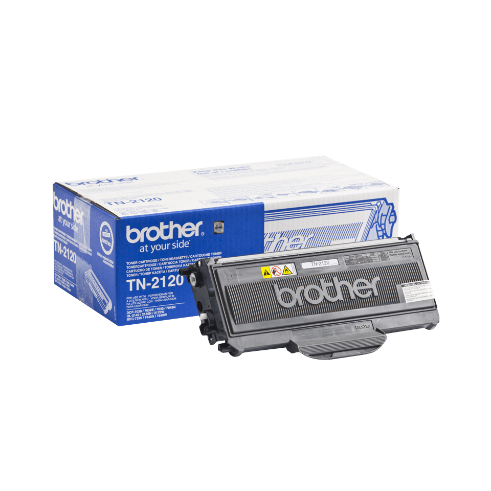 Genuine Brother TN2120 High Yield Toner Cartridge – Black