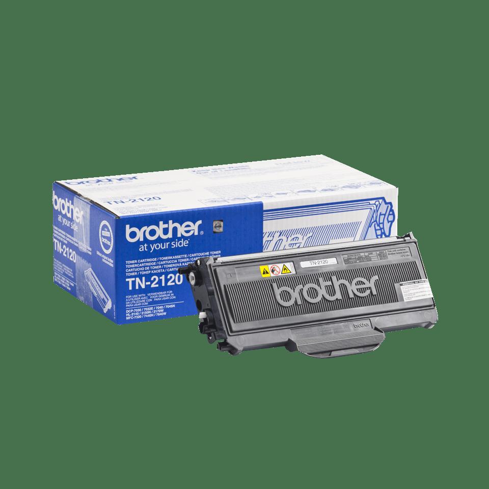 Genuine Brother TN2120 High Yield Toner Cartridge – Black 2