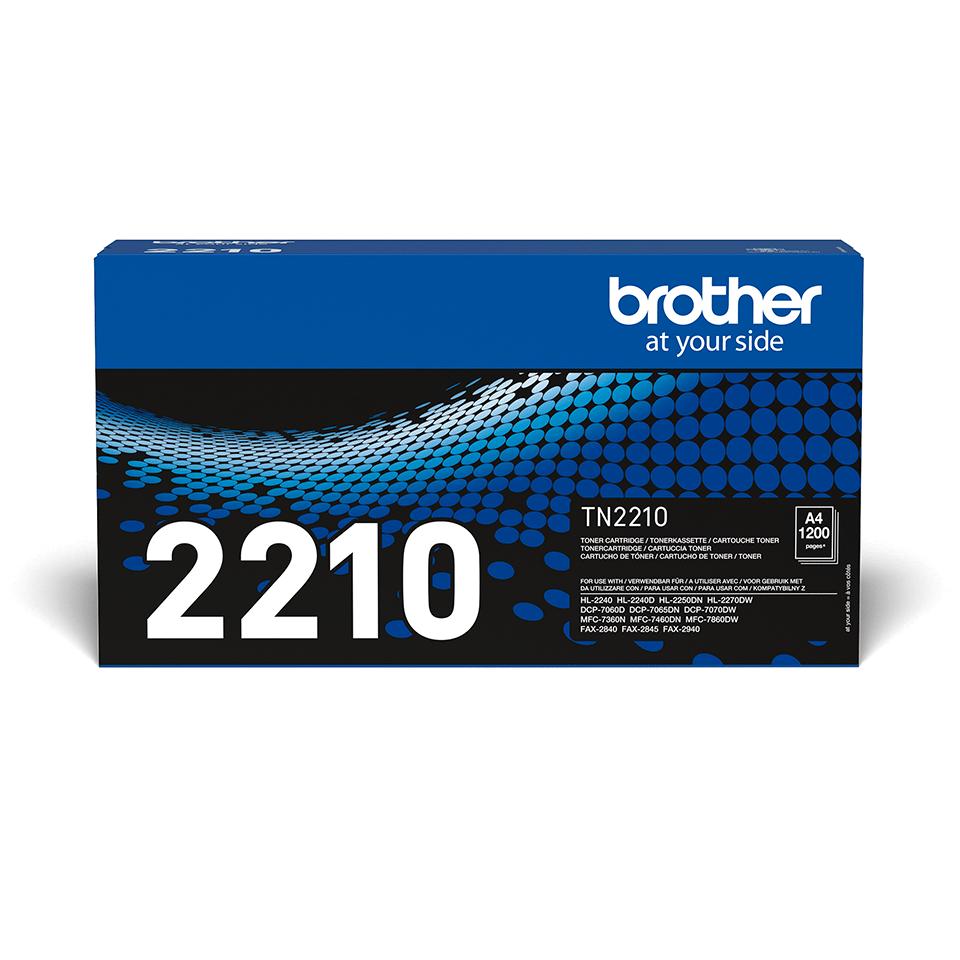 Genuine Brother TN2210 Toner Cartridge – Black 2
