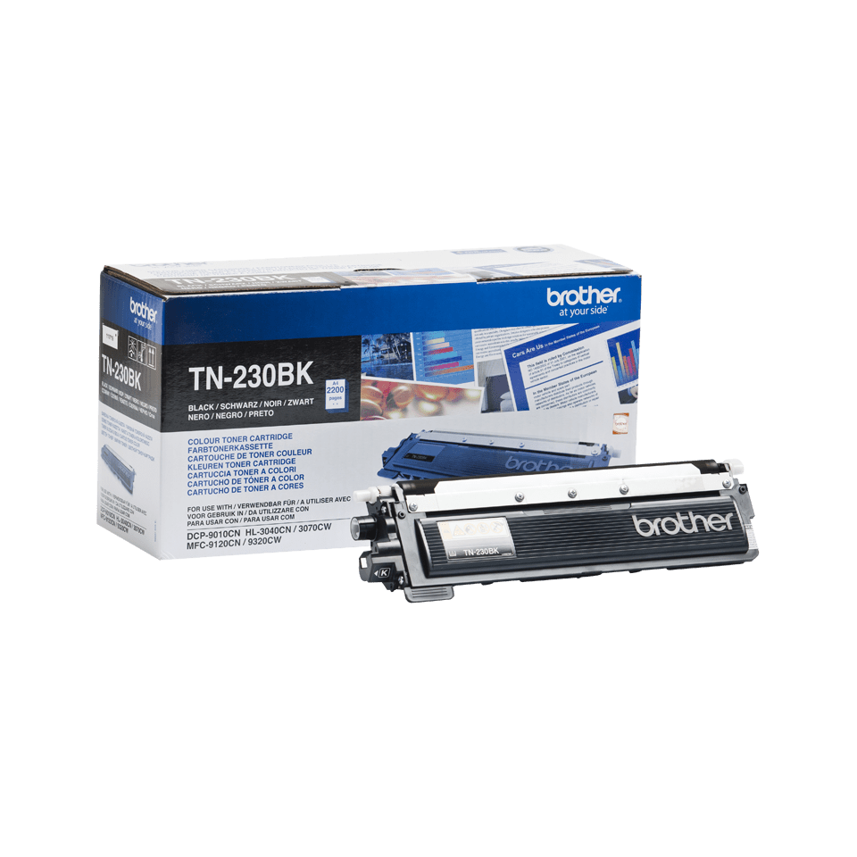 Genuine Brother TN230BK Toner Cartridge – Black