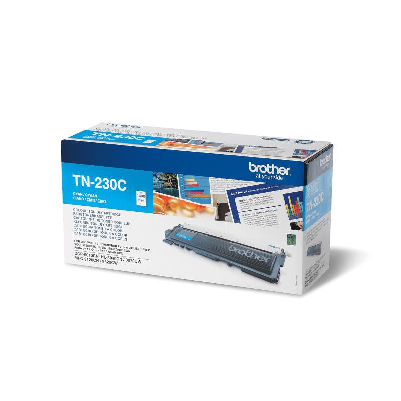 Genuine Brother TN230C Toner Cartridge – Cyan