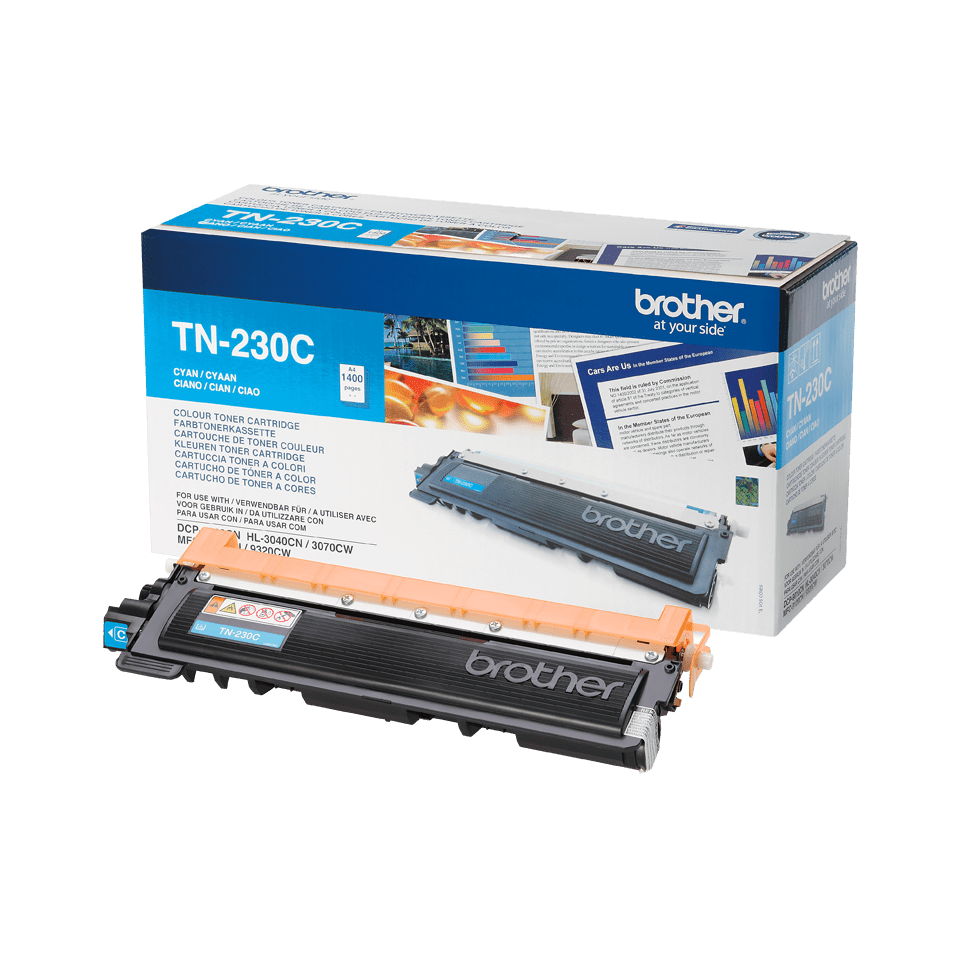Genuine Brother TN230C Toner Cartridge – Cyan