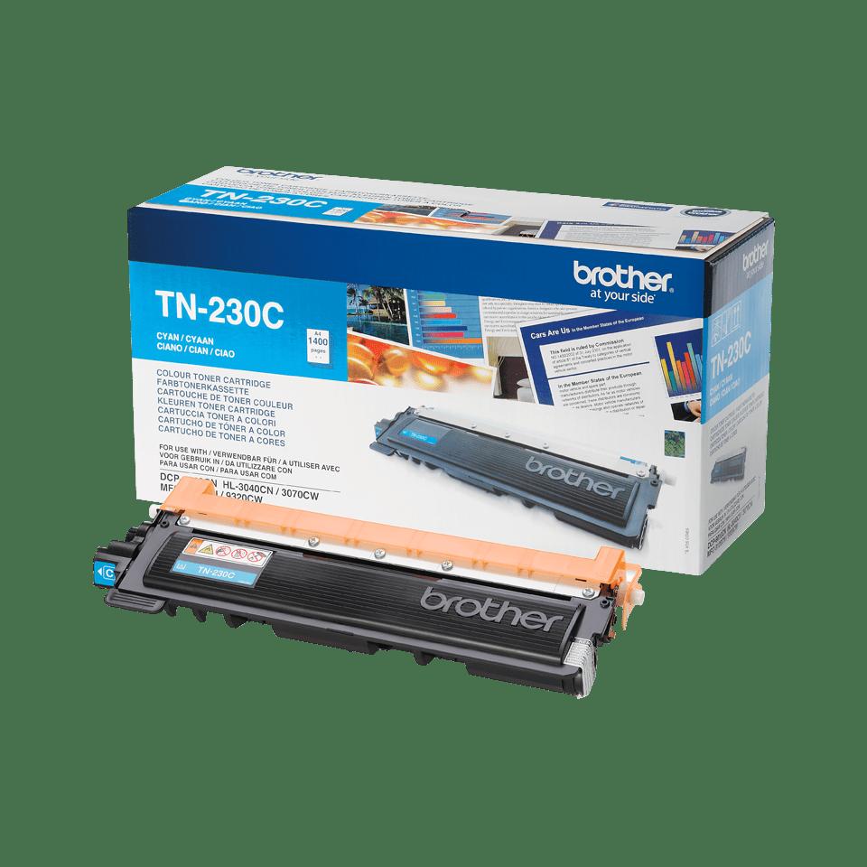 Genuine Brother TN230C Toner Cartridge – Cyan 2