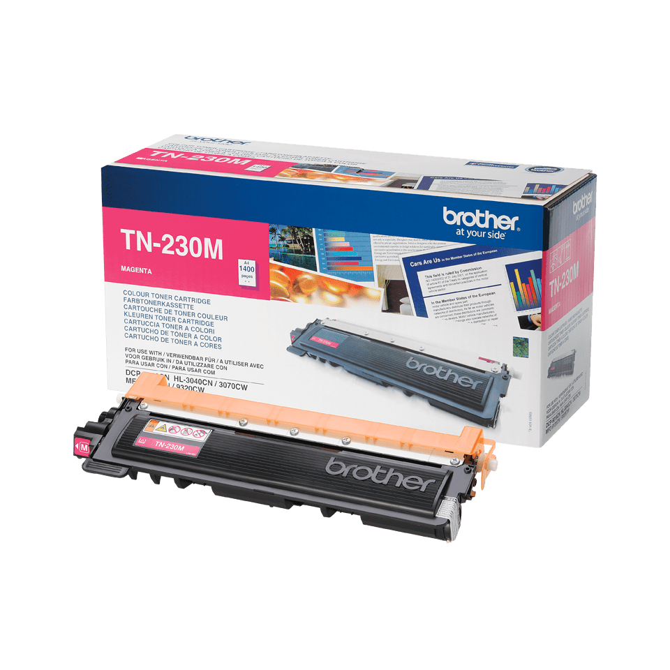 Genuine Brother TN-230M Toner Cartridge – Magenta