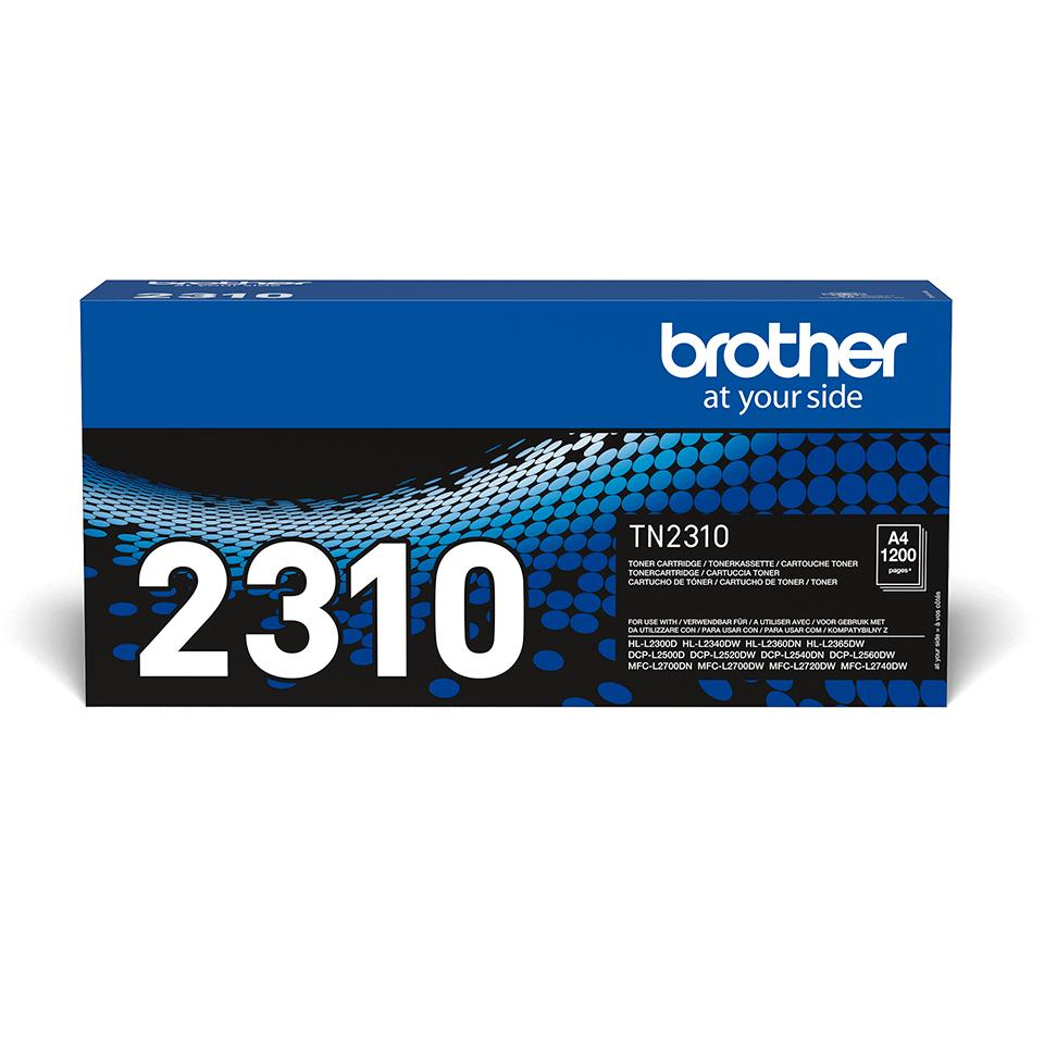 Genuine Brother TN2310 Toner Cartridge – Black