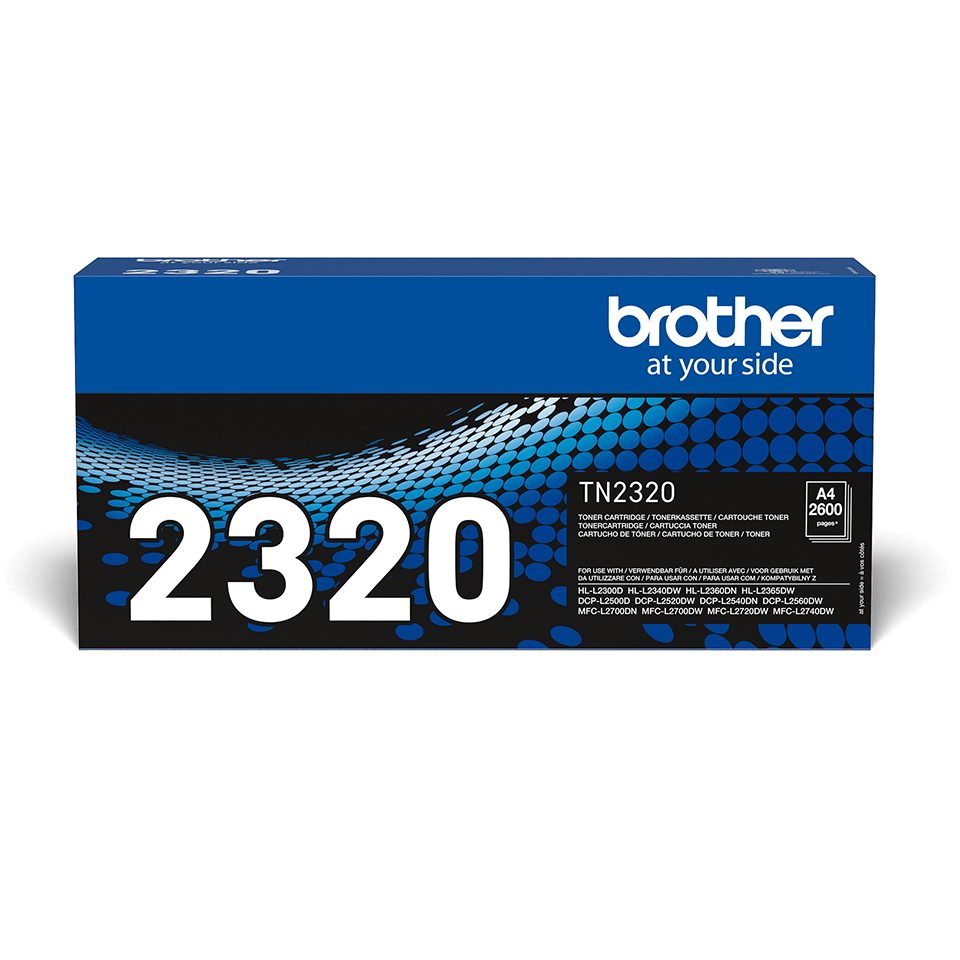Genuine Brother TN2320 High Yield Toner Cartridge – Black