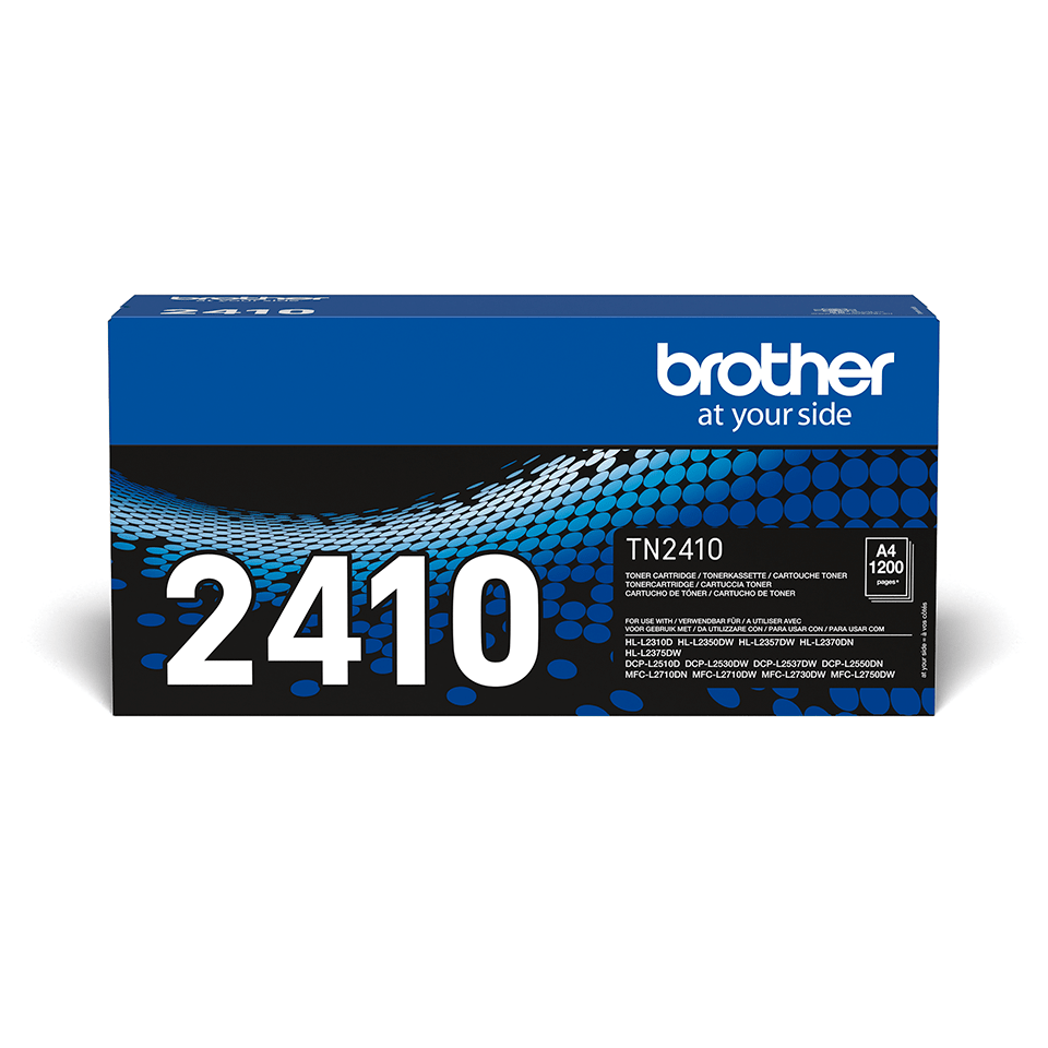 Genuine Brother TN-2410 Toner Cartridge - Black