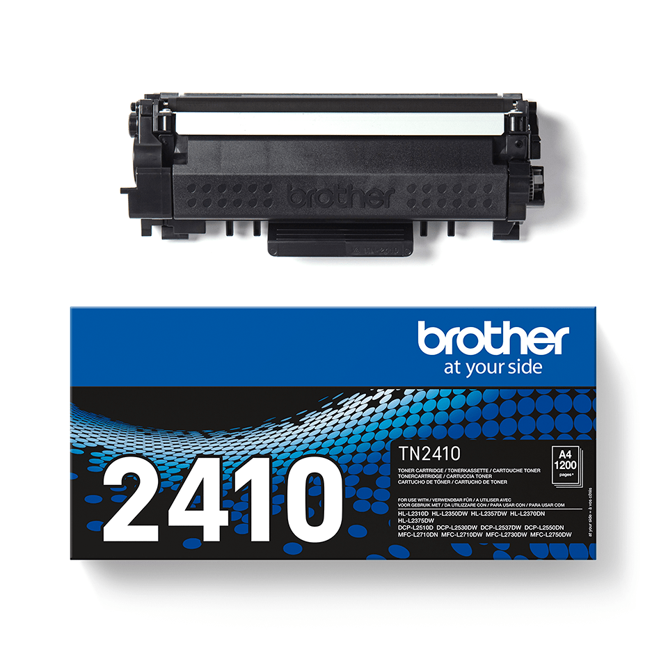 Genuine Brother TN-2410 Toner Cartridge - Black 2