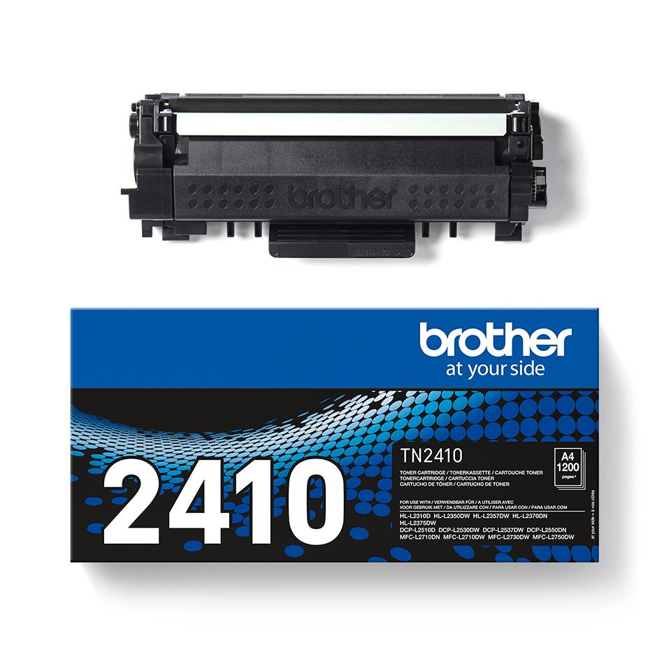 Genuine Brother TN-2410 Toner Cartridge - Black 2