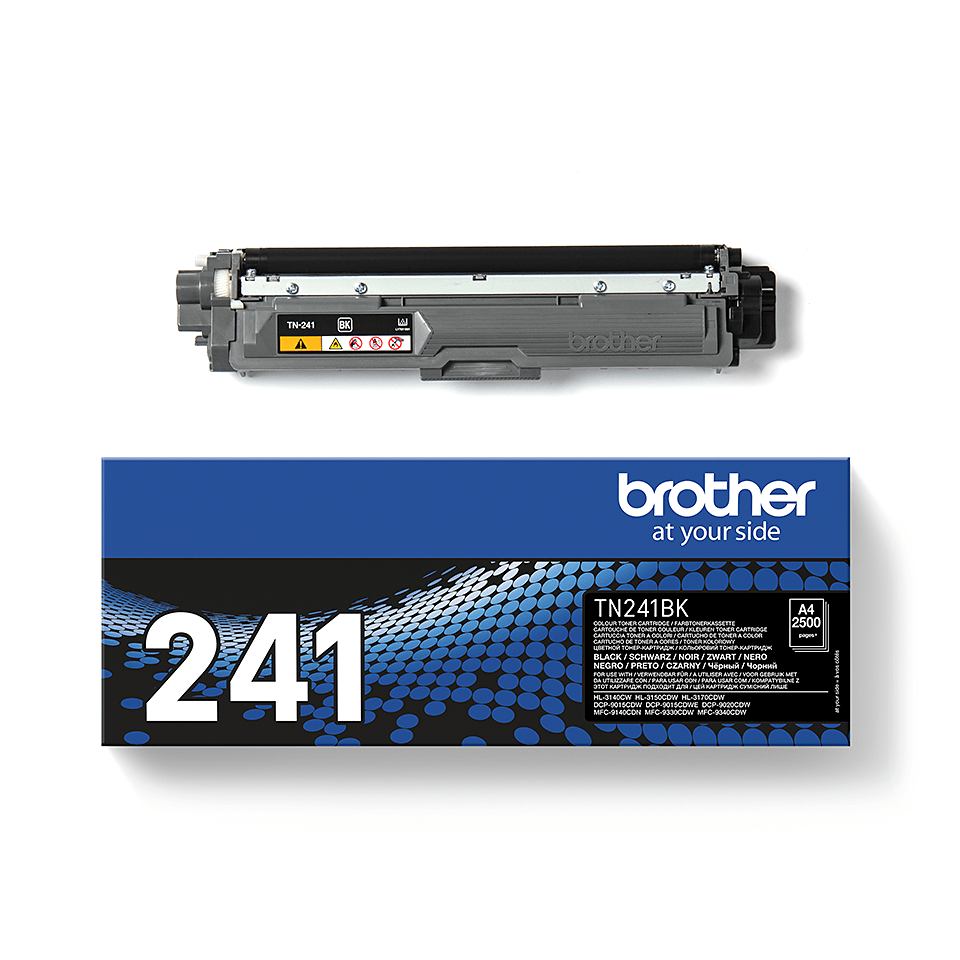 Genuine Brother TN241BK Toner Cartridge – Black 2