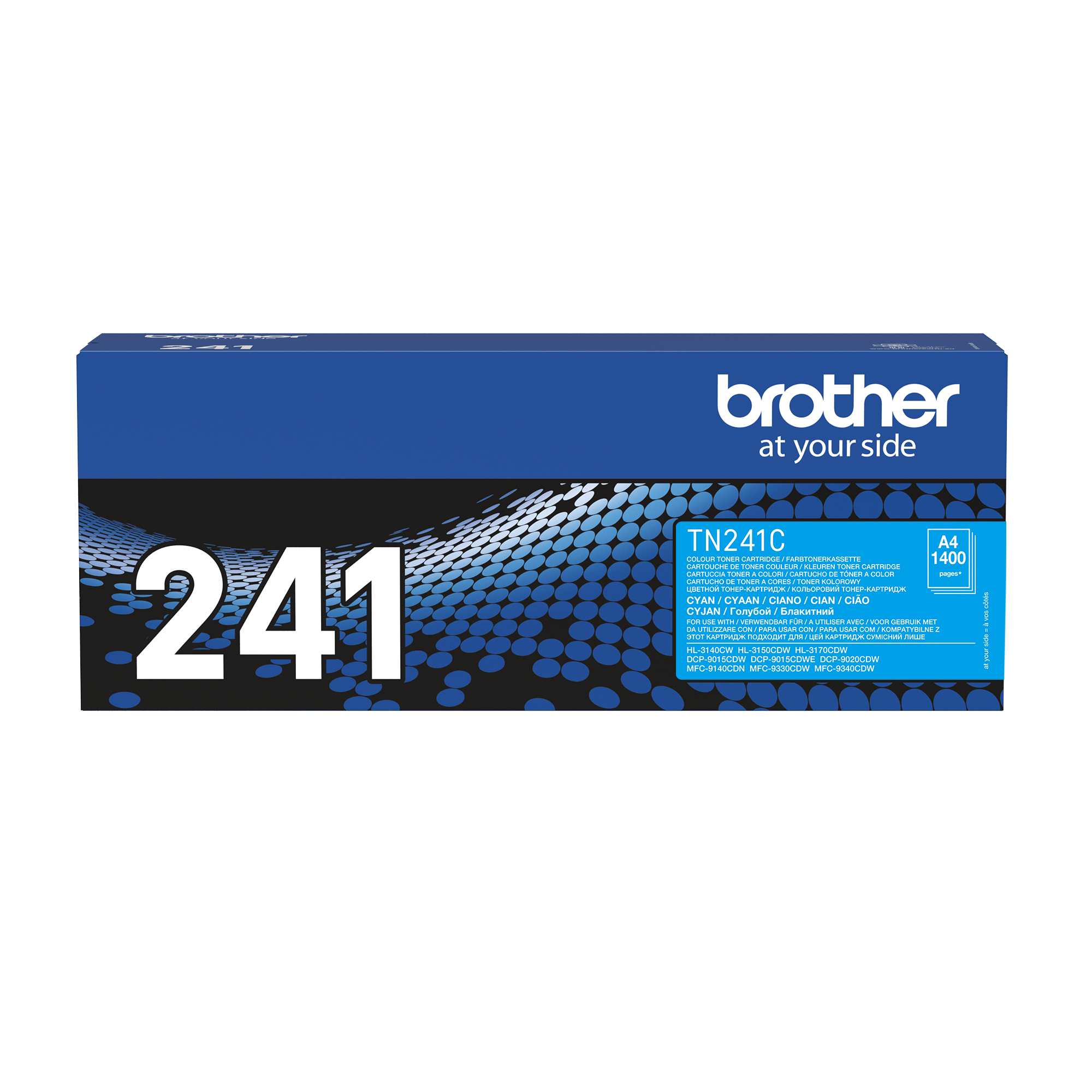 Genuine Brother TN241C Toner Cartridge – Cyan