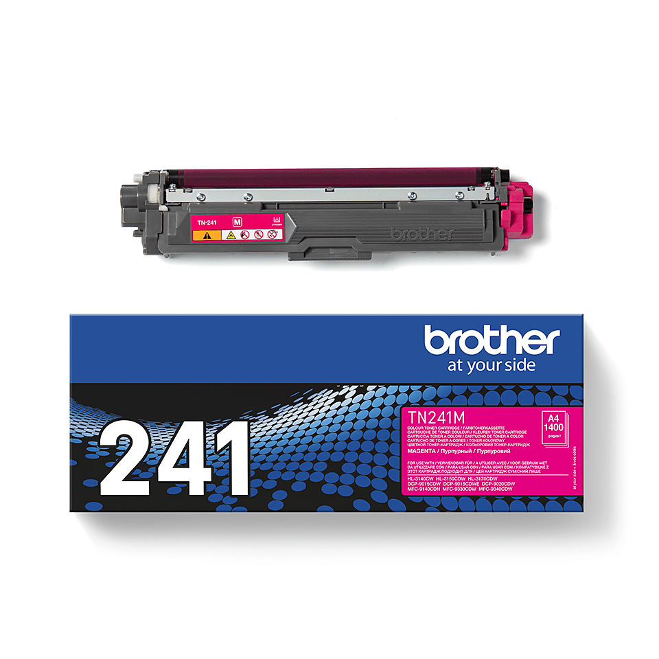 Genuine Brother TN-241M Toner Cartridge – Magenta 2