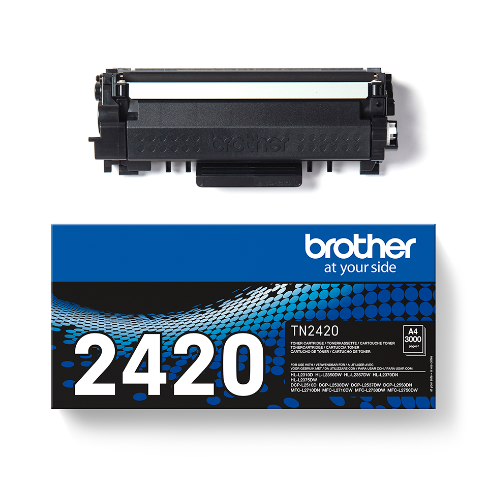 Genuine Brother TN-2420 Toner Cartridge - Black 2