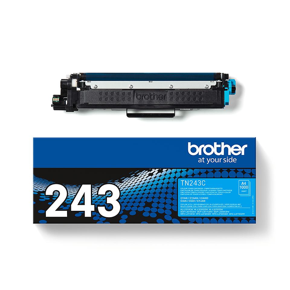 Genuine Brother TN-243C Toner Cartridge - Cyan 3