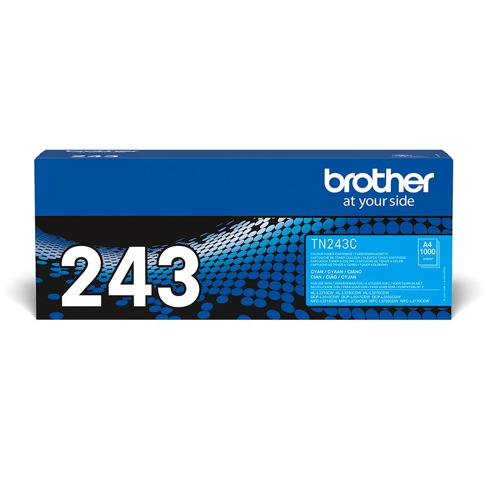 Genuine Brother TN-243C Toner Cartridge - Cyan 2