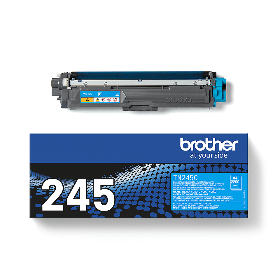 Genuine Brother TN245C Toner Cartridge – Cyan 1