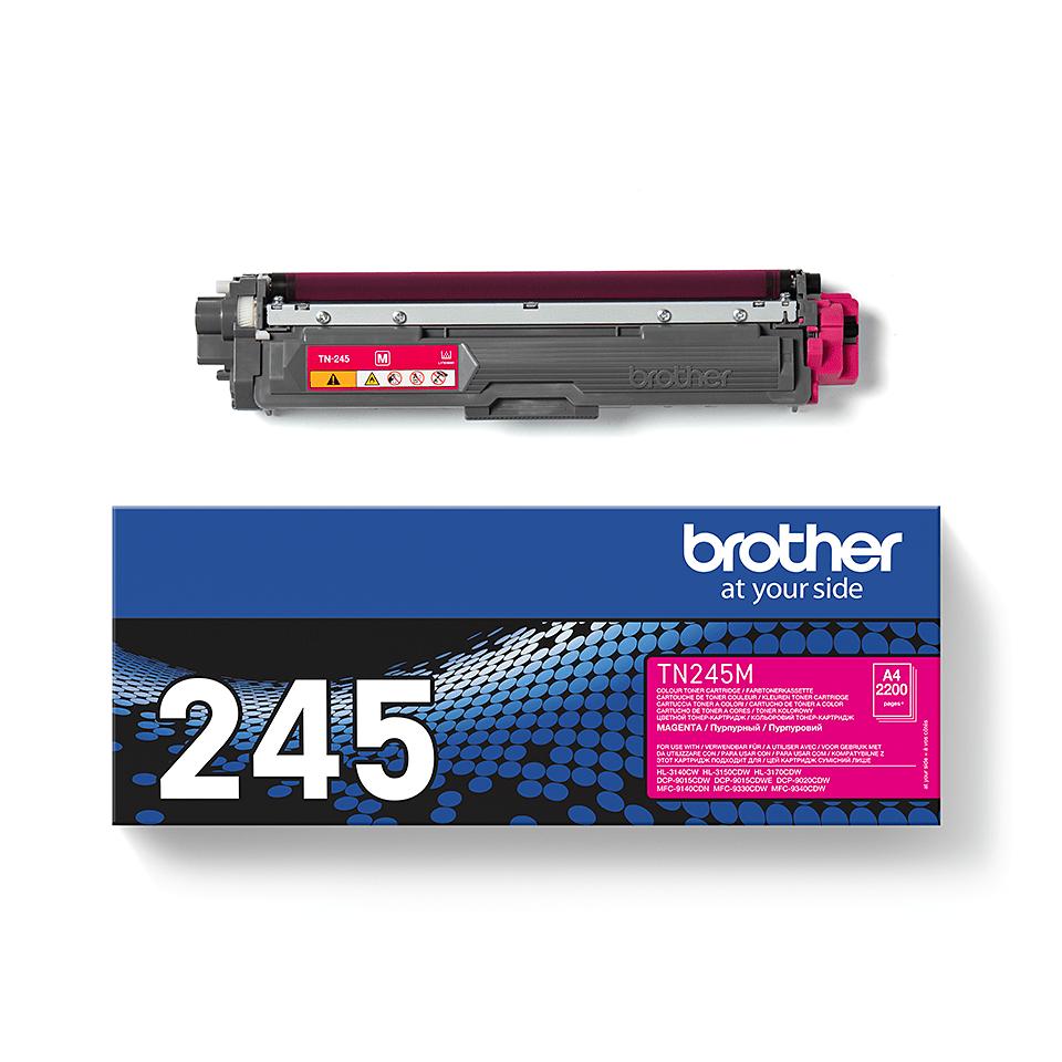 Genuine Brother TN-245M Toner Cartridge – Magenta 2